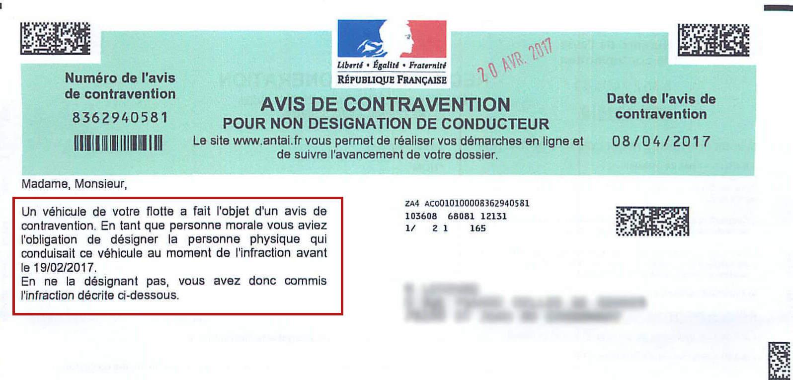 PV non designation